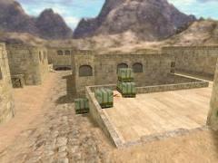 žemėlapis de_dust2